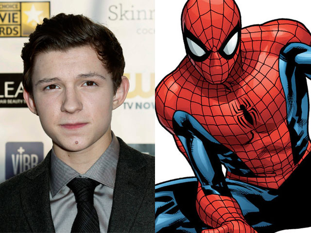19-Year-Old British Actor Tom Holland Cast as the New Spider-Man