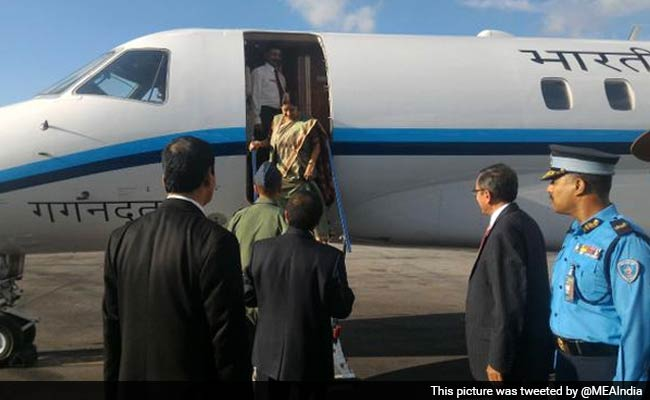 Nepal Earthquake: External Affairs Minister Sushma Swaraj to Attend Donors' Conference