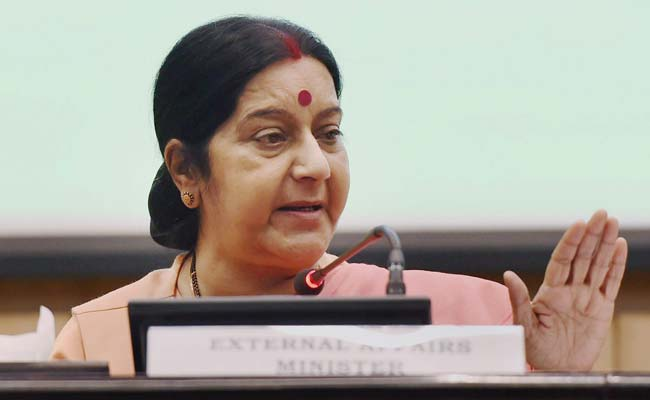 Sanskrit Should be Propagated to Purify Minds of People: External Affairs Minister Sushma Swaraj