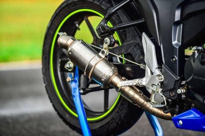 Suzuki Gixxer Cup Bike Exhaust