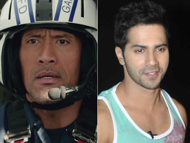 On Twitter, Dwayne Johnson Thanks Varun Dhawan For San Andreas Compliment