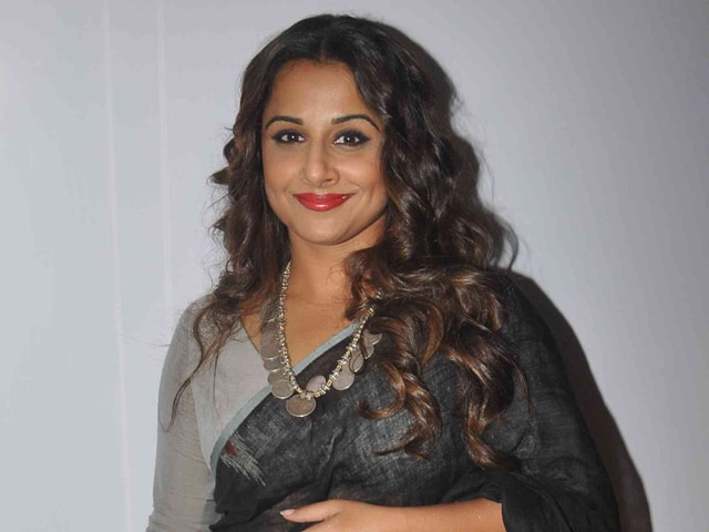 Vidya Balan on Other Actresses, Being 'Angry' and a Possible Return to TV