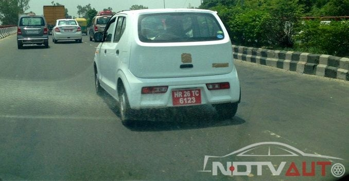 Japanese Suzuki Alto Spotted Testing In India Ndtv Carandbike