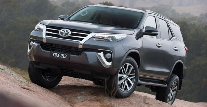 New Toyota Fortuner Revealed; Will Arrive in India in 2016