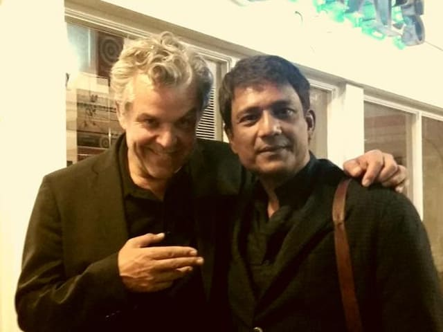 Tigers Adil Hussain, Danny Huston Have a 'Delightful Indian Meal'