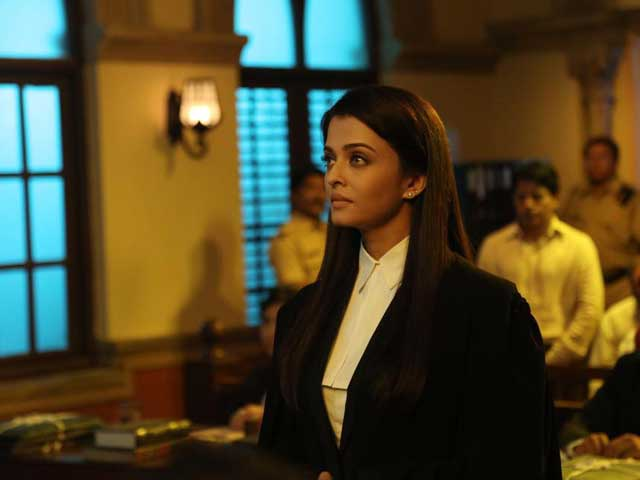 Aishwarya Rai Bachchan Braves Fever to Film Jazbaa