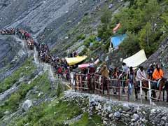 जम्मू-कश्मीर : अमरनाथ यात्रा बेस कैंप के पास बादल फटा, सभी तीर्थयात्री सुरक्षित