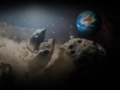 NASA Monitoring Asteroid Which Will Skim Past Earth Today