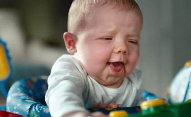 Babies Make Their Most Adorable Poo-Face in This Commercial