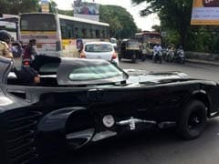 Batmobile Spotted in Pune. <i>Kai Zhala,</i> Batman?