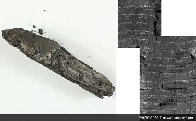 Biblical Text Deciphered From 1,500 Year Old Scroll