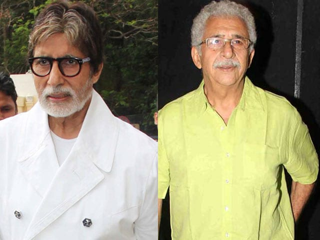 Big B, Naseeruddin Said No to Role Muzaffar Ali Cast Himself in