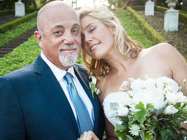 Piano Man Billy Joel Marries Long-Time Girlfriend in Surprise Wedding