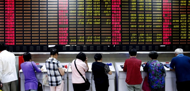China Stocks Rebound After Circuit Breaker Halted
