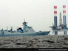 चीन के नौसेना पोत ने मुंबई बंदरगाह पर डेरा डाला