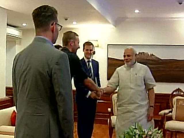 In Delhi, Chris Martin Met PM Modi, Arvind Kejriwal