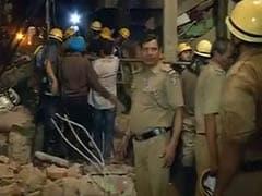 पश्चिमी दिल्ली में 4 मंजिला इमारत ढही, हादसे में 5 लोगों की मौत