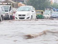 Delhi Comes To A Standstill After Rains All Day