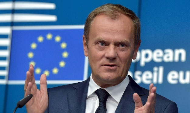 European Union's President Donald Tusk Warns of Long-Term 'Exodus' in Migrant Crisis
