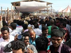 Thousands Pay Last Respects to President Kalam in his Hometown Rameswaram