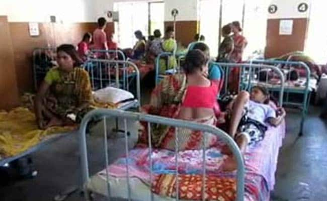 Bihar AES deaths: Locals protest at SKMCH hospital during Nitish Kumar's visit