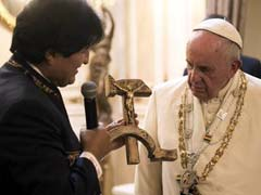 Bolivian 'Communist Crucifix' Gift to Pope Francis Surprises Vatican