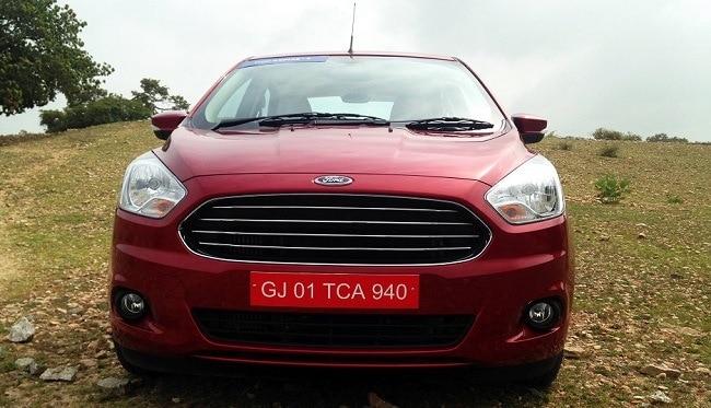 Ford Figo Aspire front