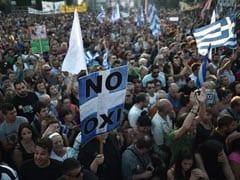 ग्रीस में विरोधियों ने रैली निकाली, जनमत संग्रह पर सरकार के रुख के प्रति समर्थन घटा