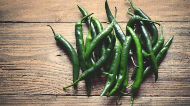 these are the health benefits of green chilli
