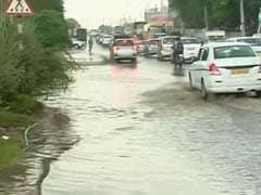 A Morning's Rain Brings Smart City Gurgaon to its Knees