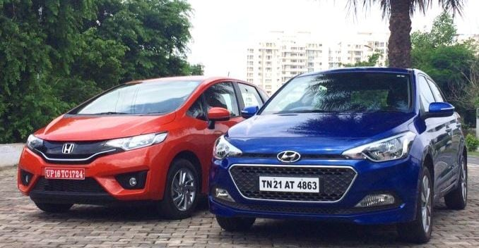 Comparison: Honda Jazz vs Hyundai i20