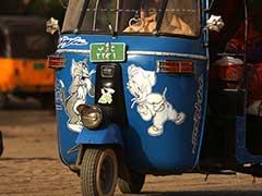 Sudan's Hot-Rod Rickshaw Men Splash Cash to Win Fares