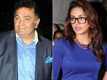 Under Fire, Rishi Kapoor Retracts Weight Joke About Huma Qureshi