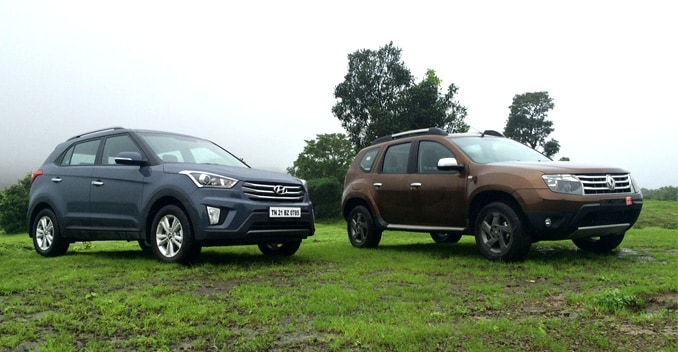 Hyundai Creta vs Renault Duster: The Search for a New Segment Benchmark