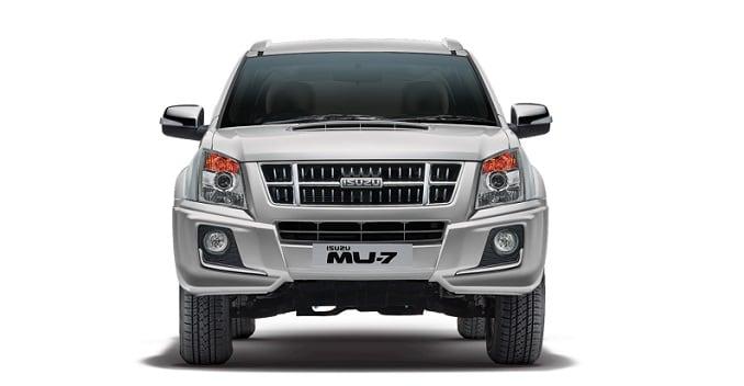 isuzu mu 7 automatic launched in india at rs 23 90 lakh ndtv rh auto ndtv com All New Isuzu MU-7 Isuzu Panther