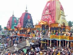 Lakhs Witness Lord Jagannath's Nabakalebar Bahuda Yatra Festival
