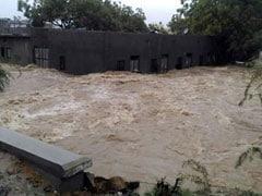 जालौर जिले में टूटा बांध, सांचौर शहर की तरफ बढ़ रहा है पानी