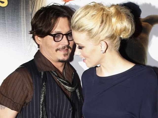 Johnny Depp's Wife Amber Heard Faces Charges Over Bringing Dogs to Australia