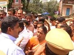 Caught on Camera: Kerala Woman Legislator Roughs Up District Official