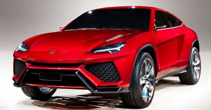 Lamborghini Urus SUV To Be Revealed In December