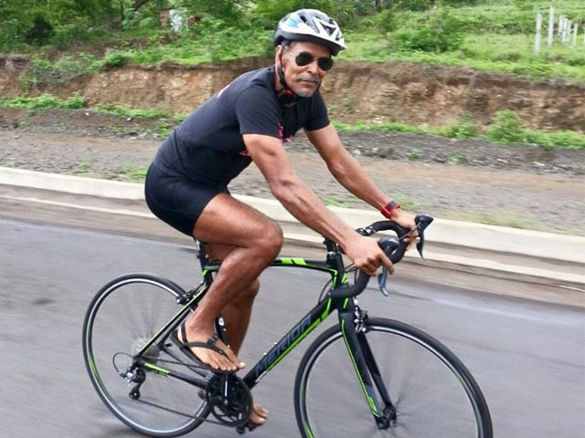 Milind Soman, Pushing 50, Finishes Extreme Triathlon Ironman