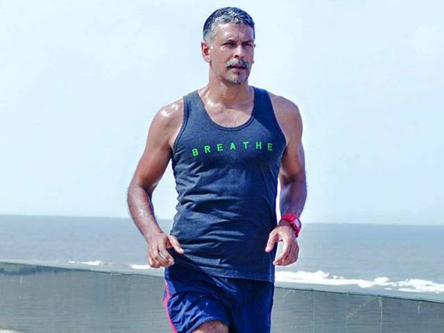 Milind Soman on the Pic of Him That Went Viral