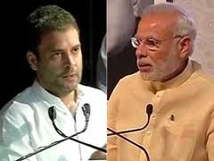 पीएम ने की 'मुकाबले' की बात, राहुल गांधी बोले- 'एक इंच जमीन नहीं देंगे'