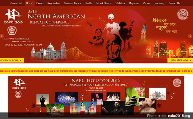Celebration of Bengali Culture and Tradition at a Convention in Houston