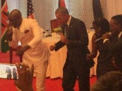 Going Viral: Obama Dances With Local Pop Stars in Kenya