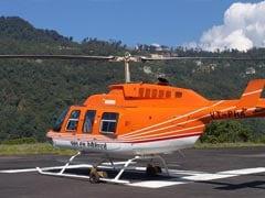 Disaster Management Team has Narrow Escape as Chopper Crash-lands