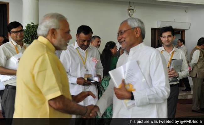 राष्ट्रपति चुनाव पर सियासी पारा गर्म : पीएम नरेंद्र मोदी से आज नीतीश कुमार की मुलाकात