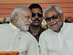 When PM Modi, Nitish Kumar Shared Stage, Jibes Came Sugar-Coated