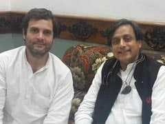 Shashi Tharoor's Chats With Rahul Gandhi in Parliament Spark Buzz