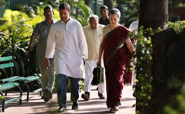 Rahul Gandhi Files Nomination For Congress President, Is Sole Nominee: Highlights
